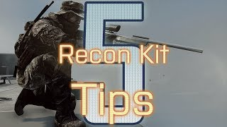 5 Recon Kit Tips - BattleField 4