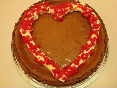 "Betty's ""Be My Valentine!"" Chocolate Cheesecake"