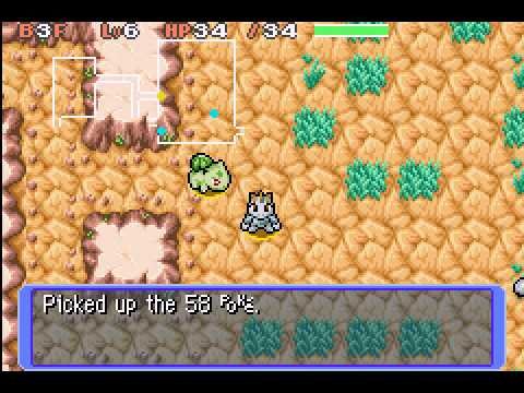 Pokemon Mystery Dungeon - Red Rescue Team - Thunderwave Cave - User video