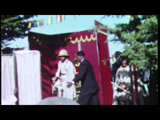 Haile Selassie comes to Timkat 1966