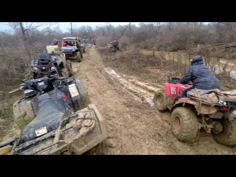 Mud Creek | 2016 Honda Rubicon Pulling EVERYONE Out w/ The TigerTail