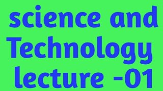 Space Technology lecture-01