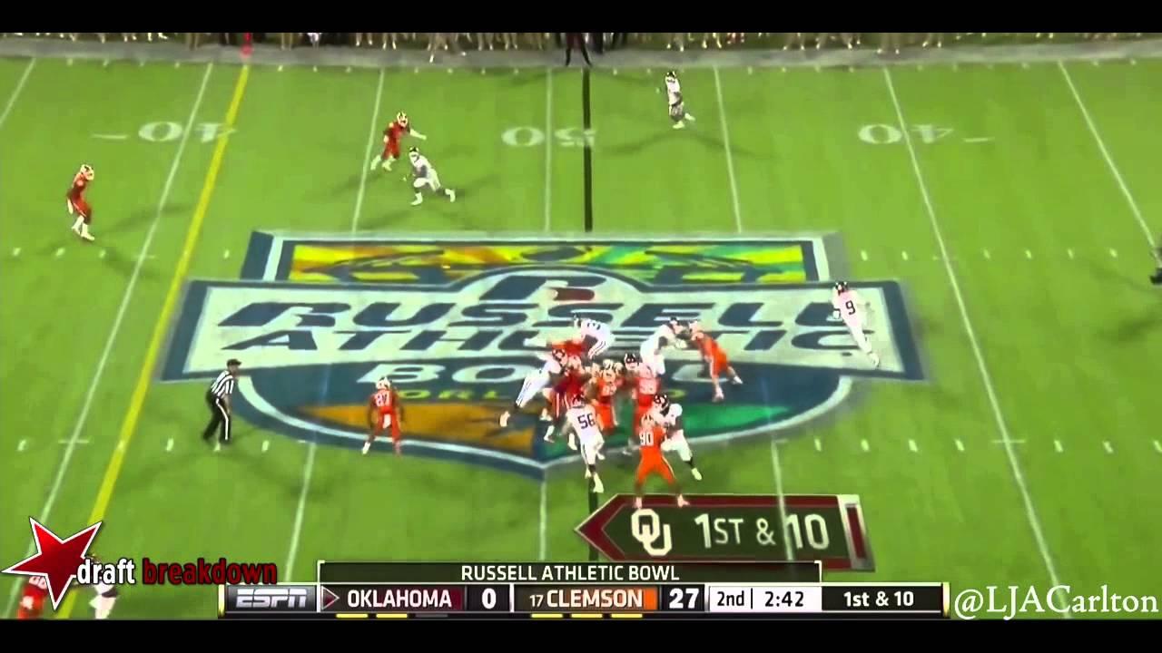 Vic Beasley vs Oklahoma (2014)