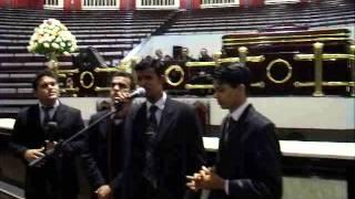 Quarteto Adoração no Encerramento do culto de milagres grande templo pastor Jean