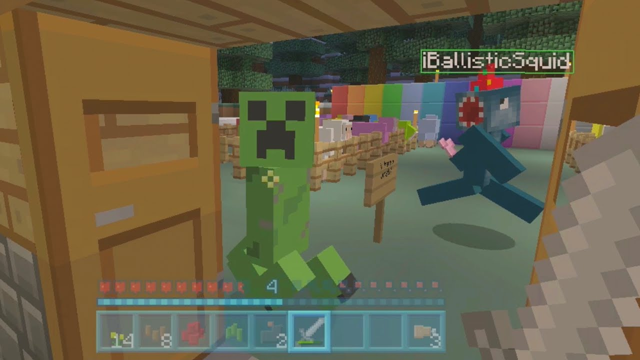 Minecraft Sheep Coloring Pages Minecraft Xbox Rainbow Sheep