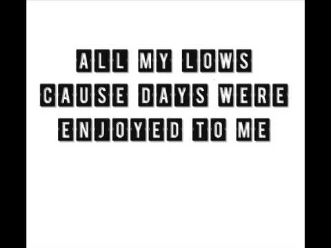 Example - All My Lows lyrics