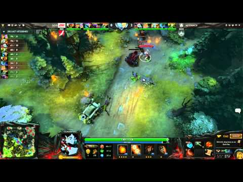 Alliance vs LGD cn UB Round 1C 1 of 3   Russian Commentary