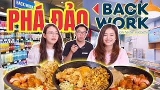 Phá đảo BackWork : Cửa hàng tiện lợi ngập đồ ăn nhất Hà Nội !