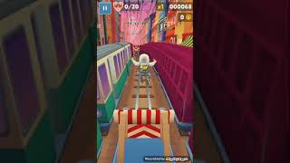 My First Run Of Subway Surfers on my new Tablet (Lenovo)
