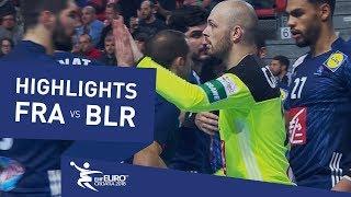 Highlights   France vs Belarus   Men's EHF EURO 2018
