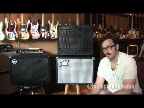 Aguilar DB112, David Nordschow DNA DNS-112, Bergantino HD112 Cabinet Shootout from Bass Club Chicago