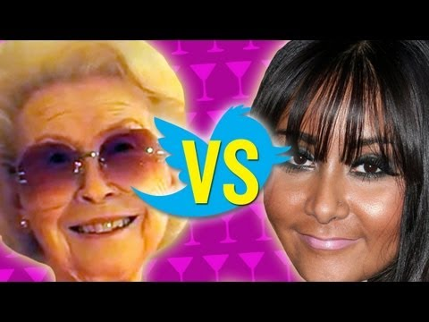 Grandma Reads Snooki s Tweets - Boo Ya Pictures
