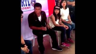 Rodrigo Duterte behind the scene
