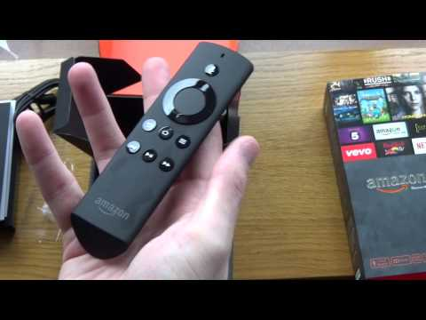 Unboxing Amazon Fire TV and Game Controller