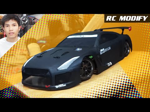 RC Modify 8 Part 1   NISSAN Skyline GTR R35