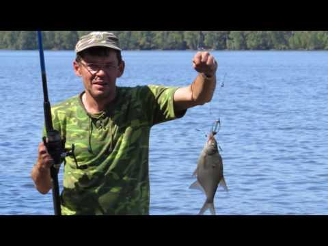 рыбалка возле скнятино
