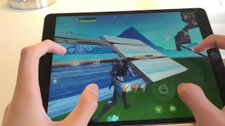 PRO OCEANIA PLAYER / FORTNITE MOBILE 4 FINGER HANDCAM