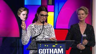 THE FAVOURITE receives the special Jury Award for Ensemble Performance at the Gotham Awards 2018