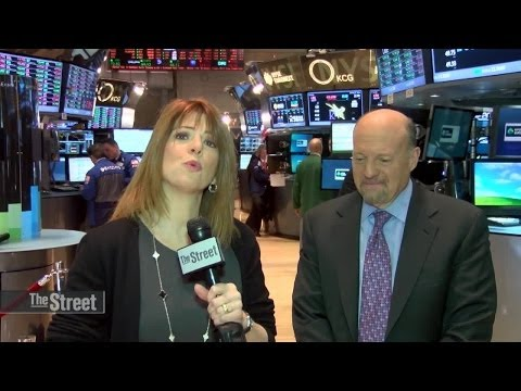 Jim Cramer Answers Tweets on Caterpillar, Apple and Facebook
