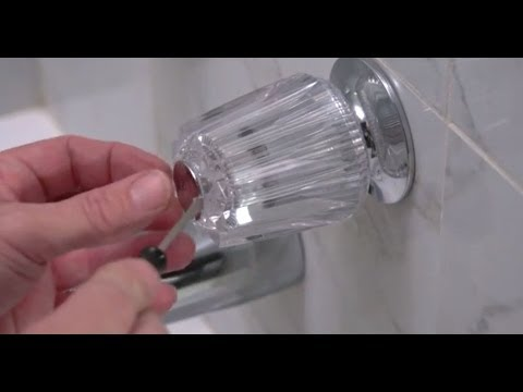 How to Repair a Leaky Tub and Shower Faucet