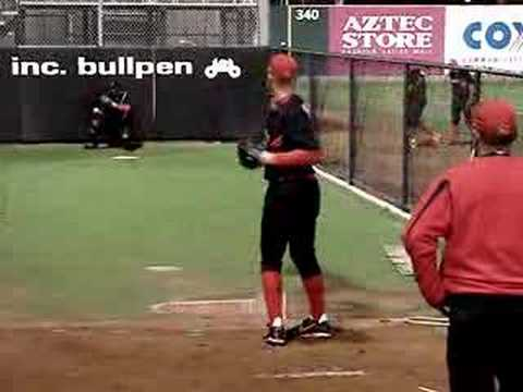 Stephen Strasburg of the San Diego St. Aztecs