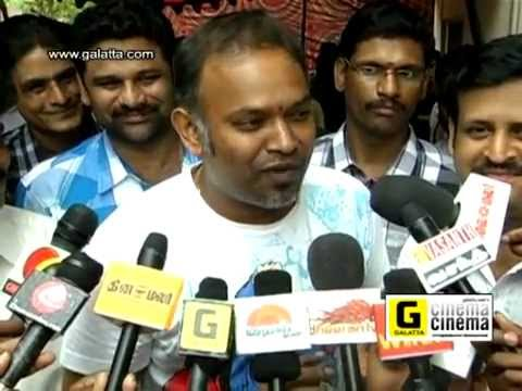 Balu Mahendra & Venkat prabhu At We Fx Special Effects Studio Launch