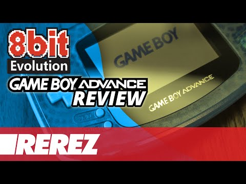8 Bit Evolution Custom Backlit GBA Comparison & Review - Rerez