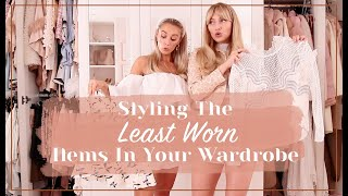 HOW TO STYLE THE LEAST WORN THINGS IN YOUR WARDROBE // Fashion Mumblr & Freddy 💞