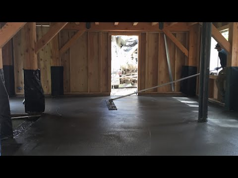 Mountain Dream Home #16: Concrete