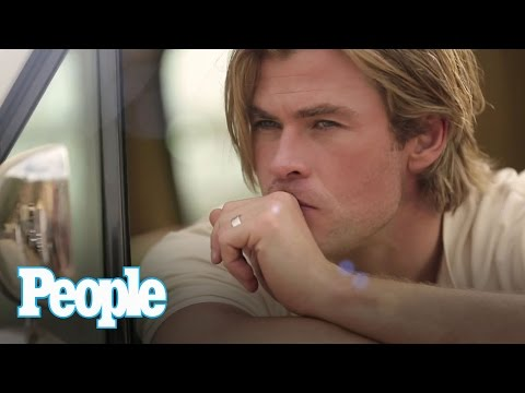 Chris Hemsworth Makes a Vacuum Manual Sound Sexy | Sexiest Man Alive 2014 | PEOPLE