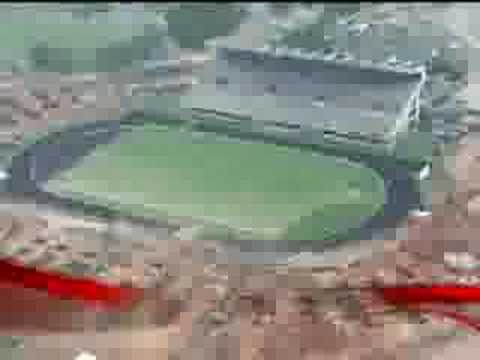Estadio Gino Scarigella polideportivo Cachamay. (Centro Total de Entretenimiento Cachamay) Capacidad: 41.600 espectadores.