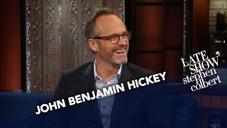 John Benjamin Hickey: What Was Your Favorite Song In High School?