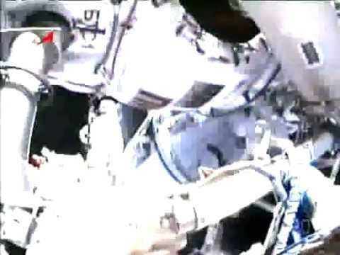 Two Russian ISS cosmonauts take spacewalk