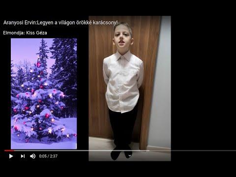Aranyosi Ervin: Legyen a világon örökké karácsony