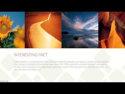 """SOLAR"" (sunset light) PowerPoint Presentation - $15"