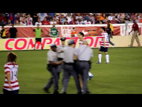 USA vs Brazil 2012 Must SEE. HD. Maryland Police Brutality!