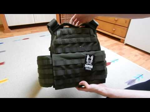 Warrior Assault System DCS Plate Carrier - Review (English SUB)