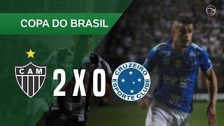 ATLÉTICO-MG 2 X 0 CRUZEIRO - GOLS - 17/07 - COPA DO BRASIL 2019