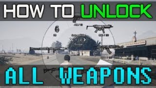 "Gta 5 - Unlock ""All Weapons"" Cheat Code! - Guide"