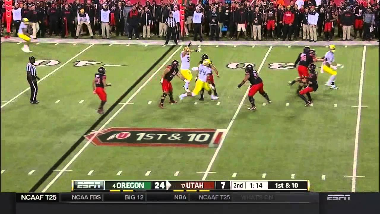 DeForest Buckner vs Utah (2014)