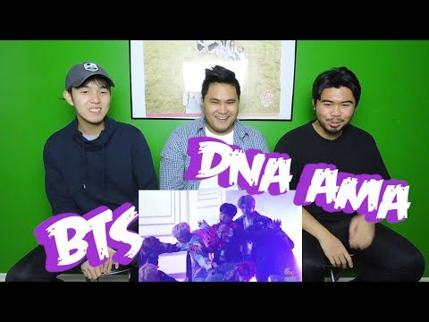 BTS - DNA AMA REACTION (FUNNY FANBOYS)