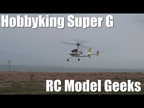 Hobbyking Super G auto gyro back in the air.