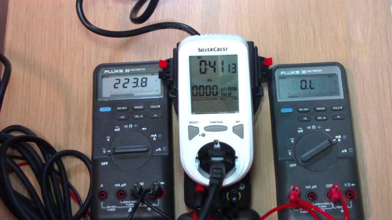 silvercrest lidl monitor energy