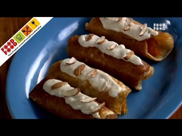 Carrot Pancakes With Rabdi - Style Chef