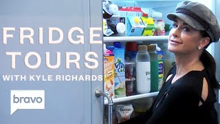 RHOBH Star Kyle Richards Shows Us Inside Her Beverly Hills Fridge | Bravo