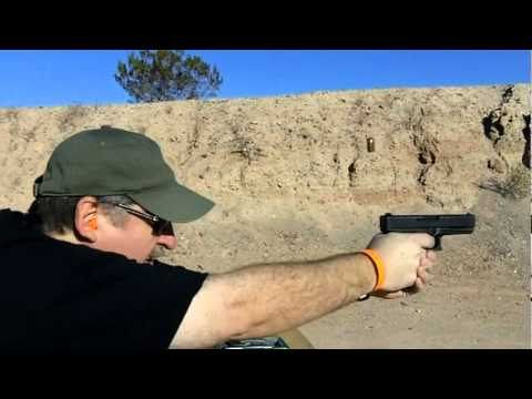 Glock G21 45acp Gen 4 Media Day at the Range 2012