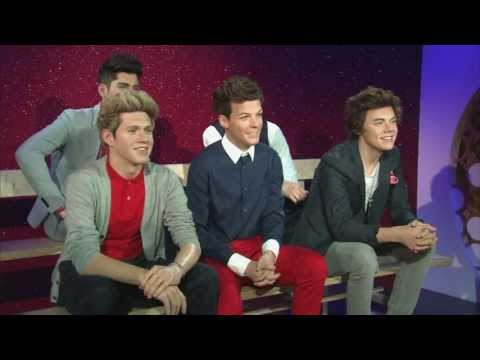 One Direction: Spookily life-like wax figures unveiled at Madame Tussauds