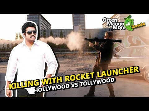 Killing with Rocket Launcher: Hollywoodd Vs Tollywood (Worst Action Scene Ever)