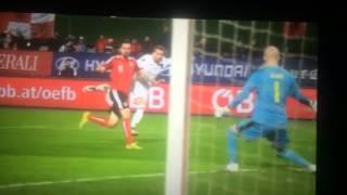 Austria-Albania 2:1 ( Friendly Gaime 26/03/2016)