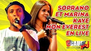 Soprano FT Marina Kaye Mon Everest Live C Cauet sur NRJ